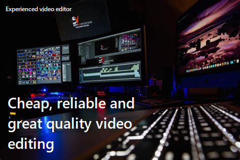 Great and reliable video editing