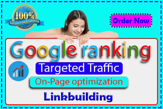 I will Offer you guaranteed Google 1st-page ranking with best linkbuilding service