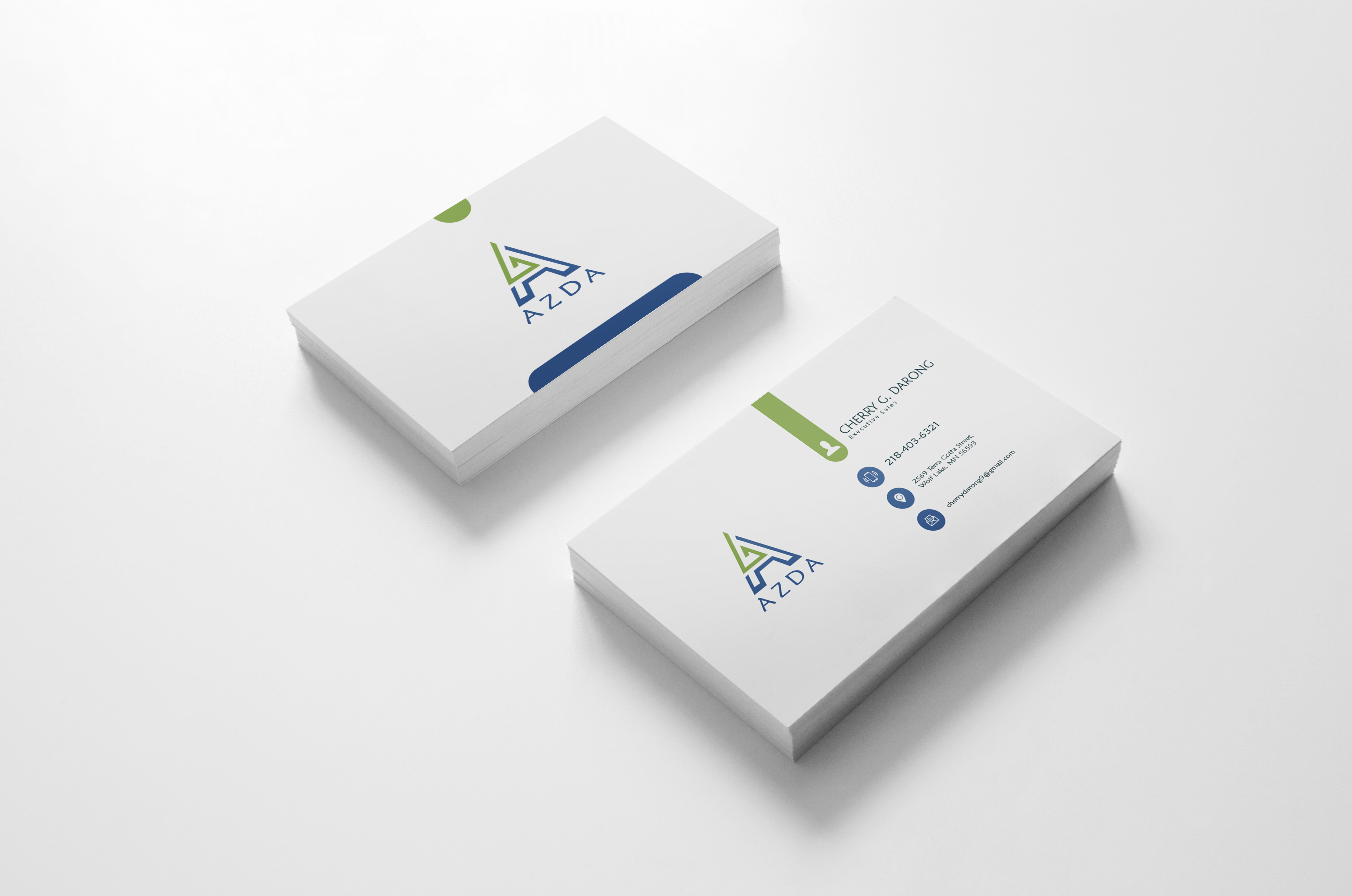 I will do professional business card design in 1 day