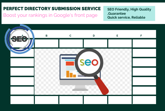50 +PR directory submission service And rankings in Google's front page