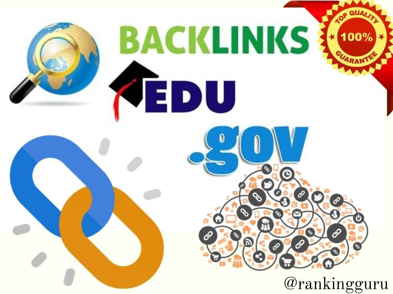 I will manually build PR 9-7 and Mostly dofollow 30 Edu/Gov backlinks for your website