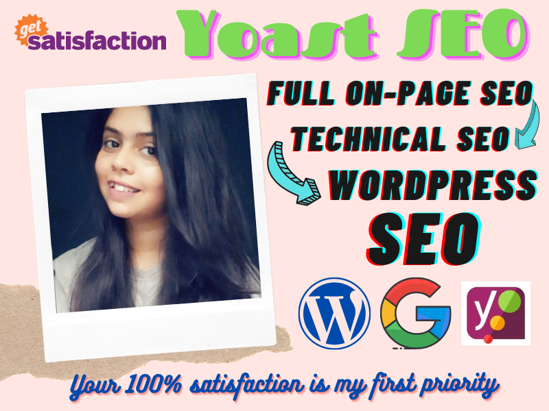 I will do Technical SEO and on-page optimization of wordpress website with yoast
