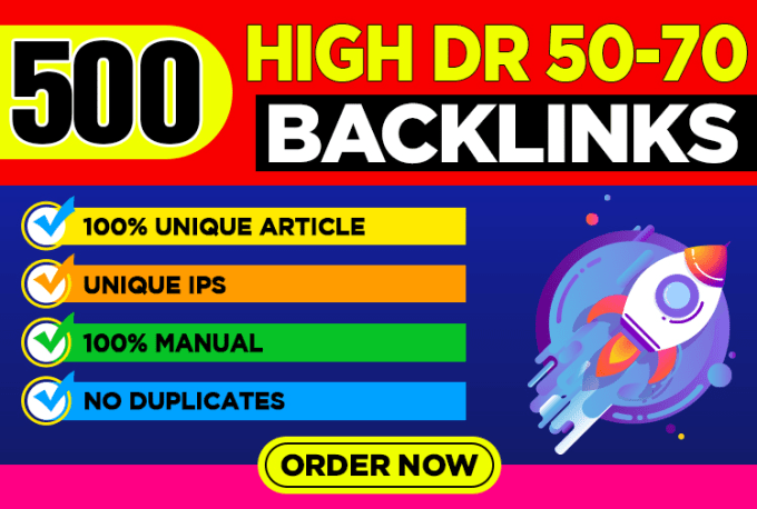 Get Extream 500 Parmanent BacklinK with High DA/PA/TF/CF on your HomePage in unique website