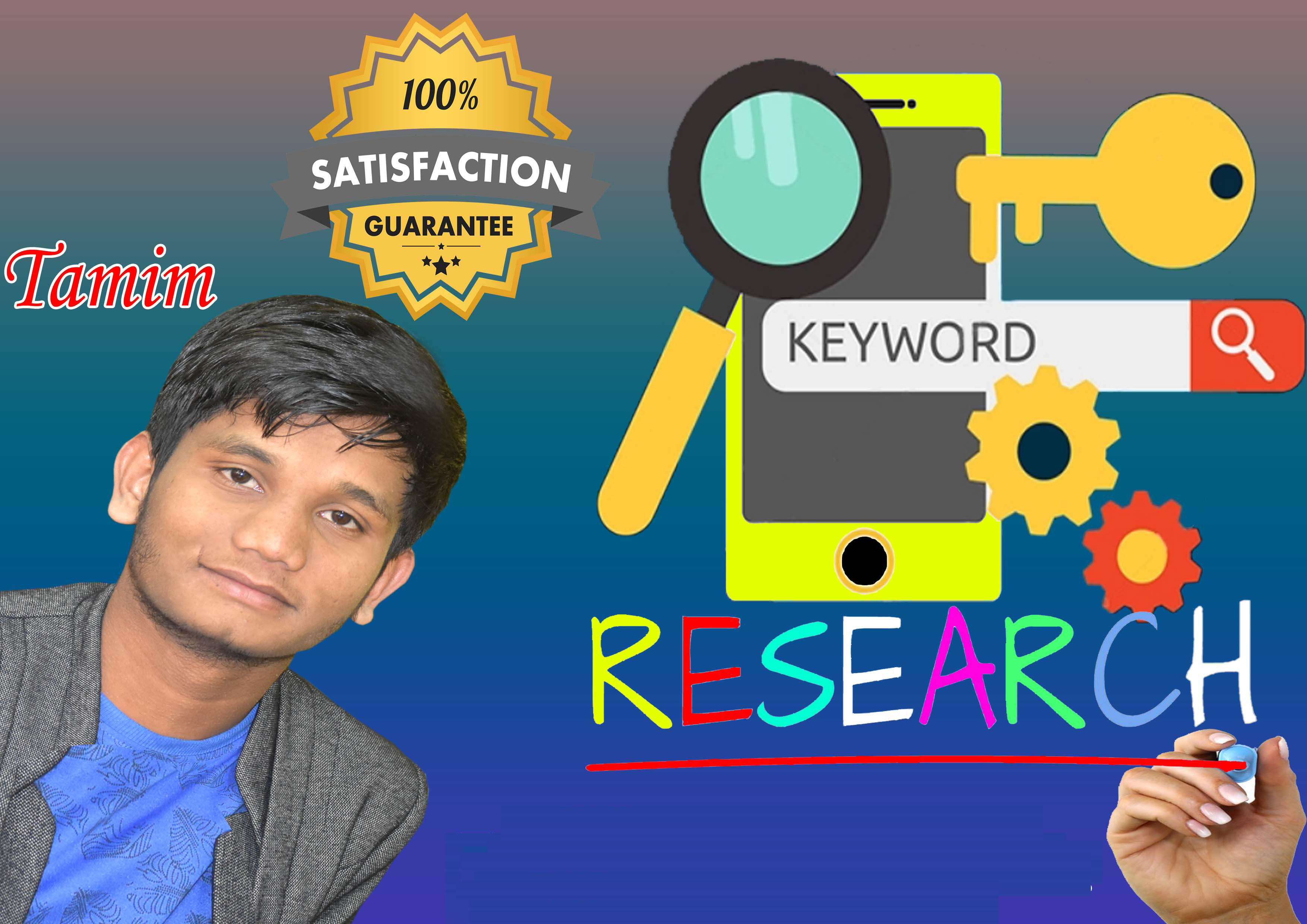 seo keyword research and competitor analysis fast service