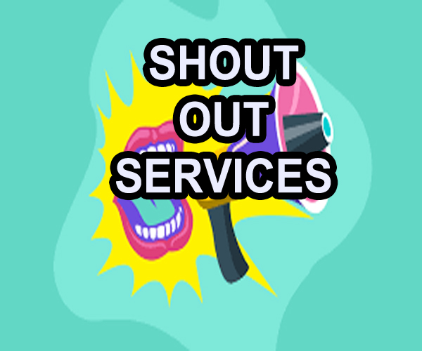 I will give shout out service which will drive more traffic to your site