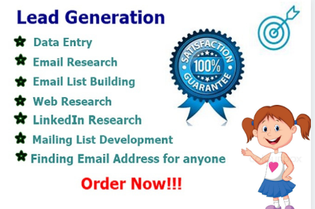 create B2B Targeted lead generation With best output