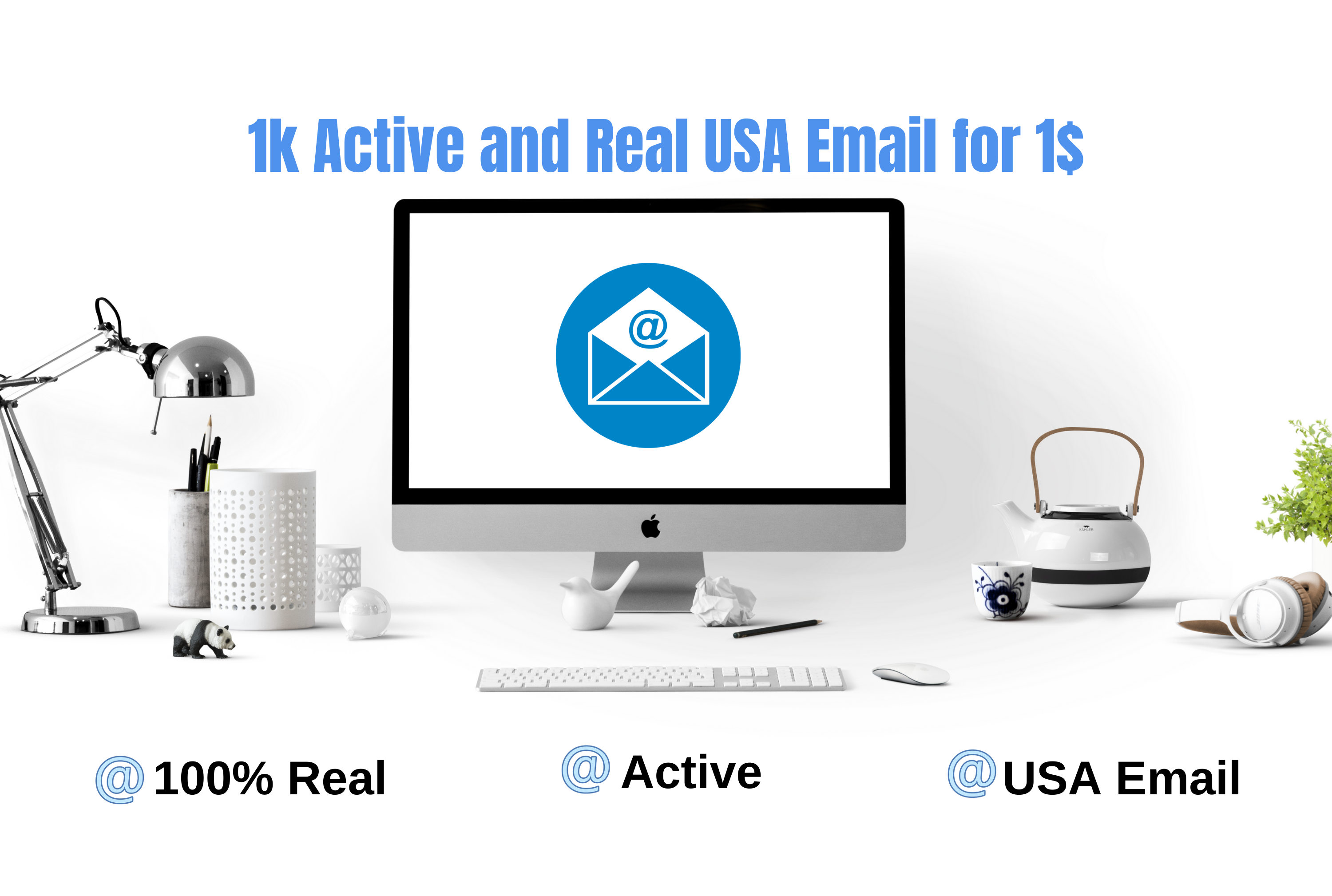 I will provide 1K Active and Real USA Email for you