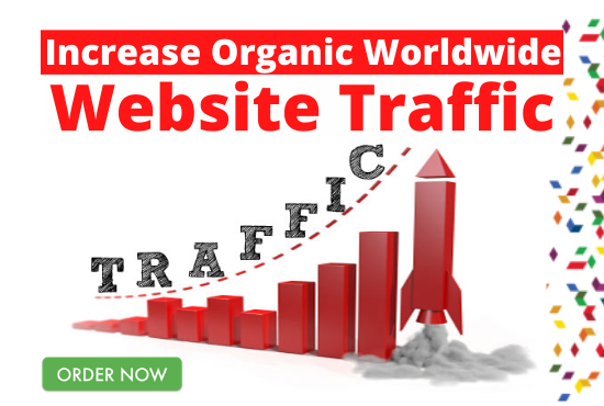 I will drive organic 15000 worldwide web traffic to your website