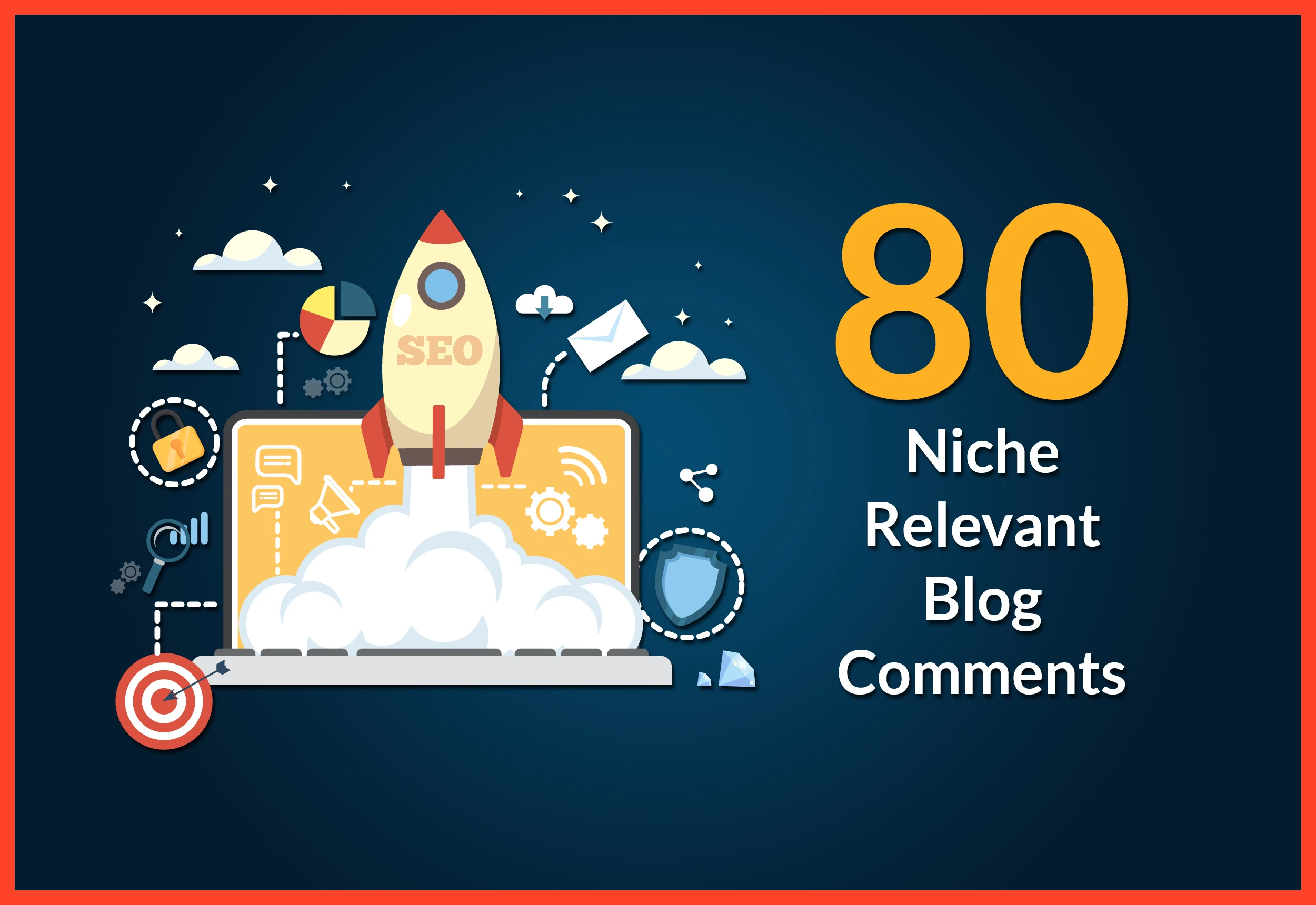 i will provide 80 niche Relevant blog comments high da pa Google ranking