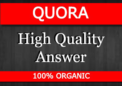 Promote your website By 50 high quality answer posting in QUORA