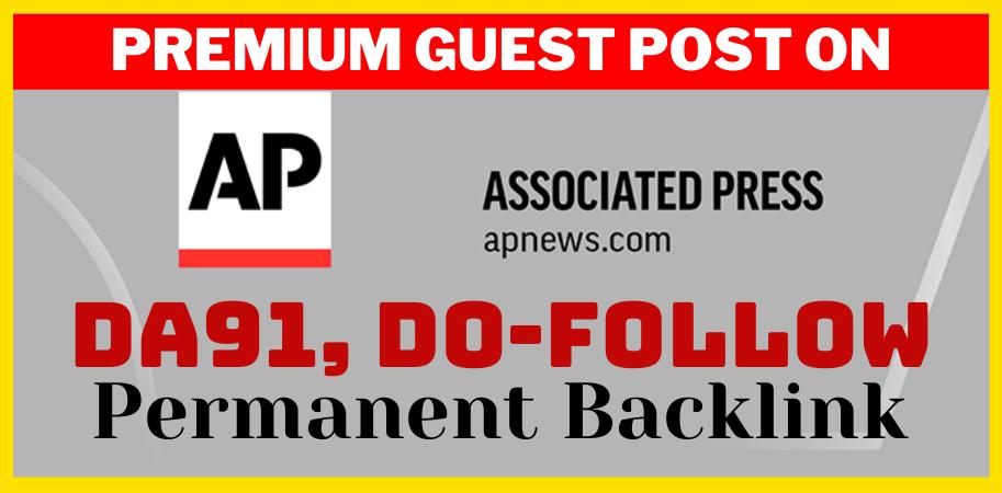 Do permanent guest post on apnews. com press release da 92