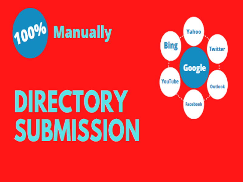 I will provide you 100% manually directory submission