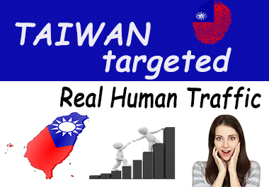 2500+ real human Taiwan target unique traffic for your website or blog