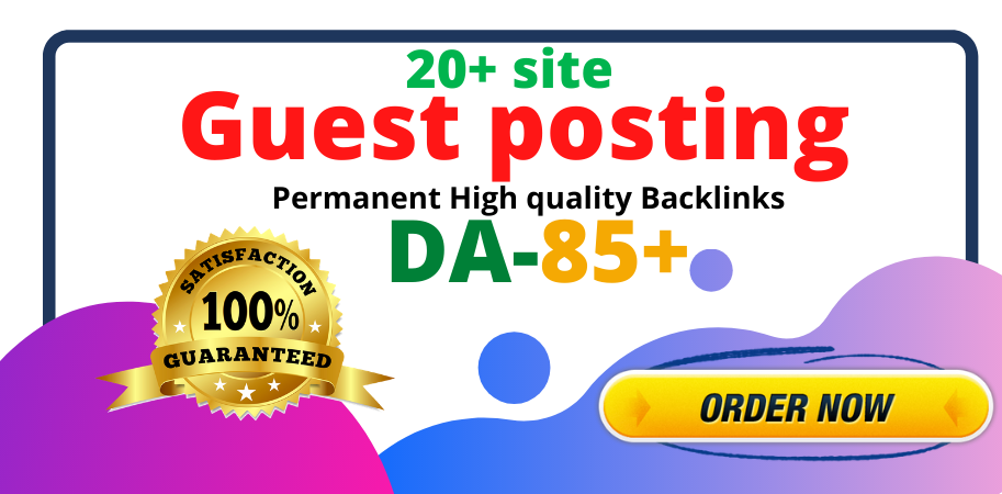 I will publish guest post on high quality site with huge traffic