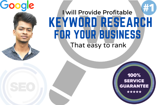 I will do excellent seo keyword research that really ranks