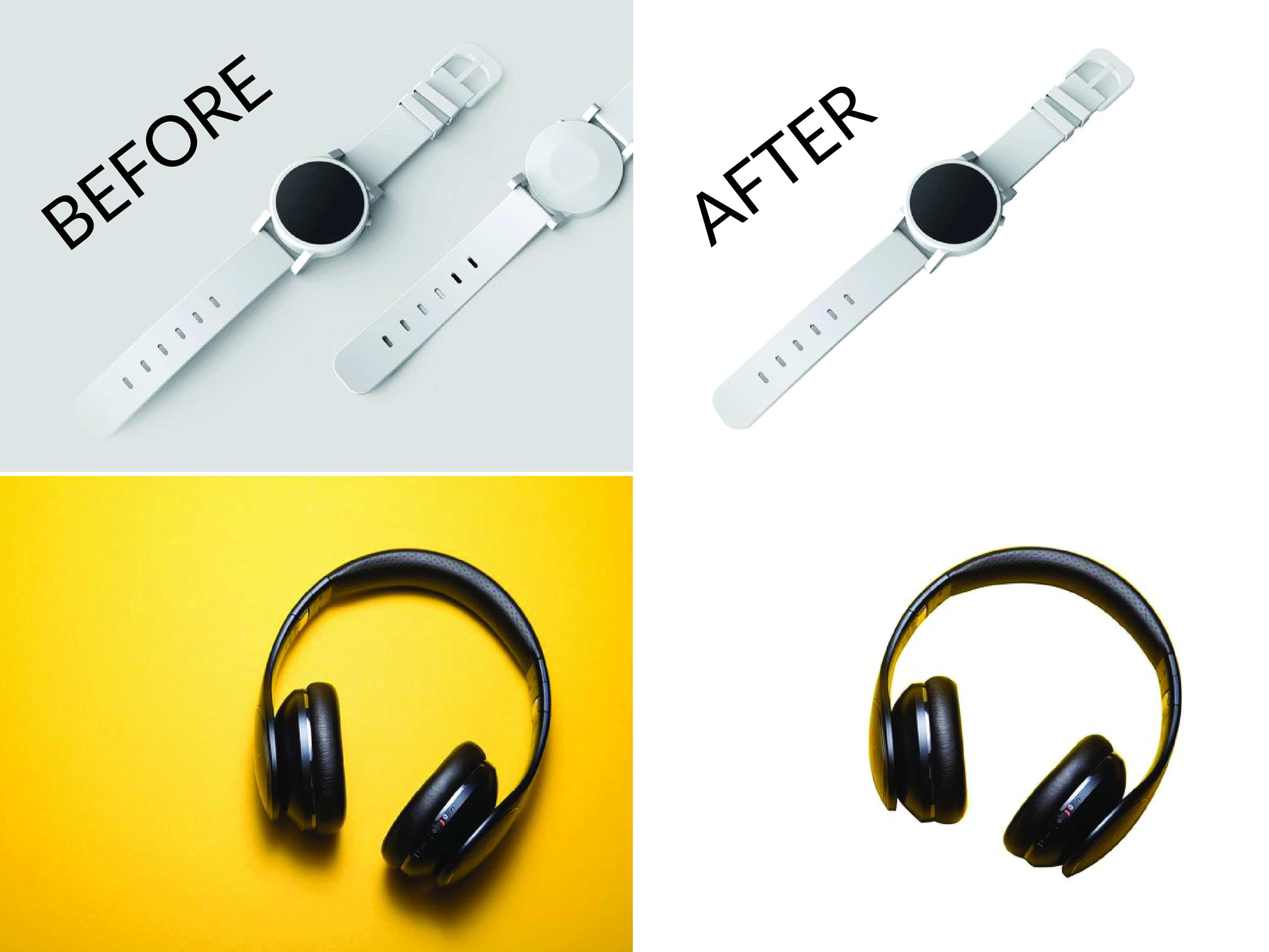 I will do five images background remove and retouch WITH EXPRESS delivery