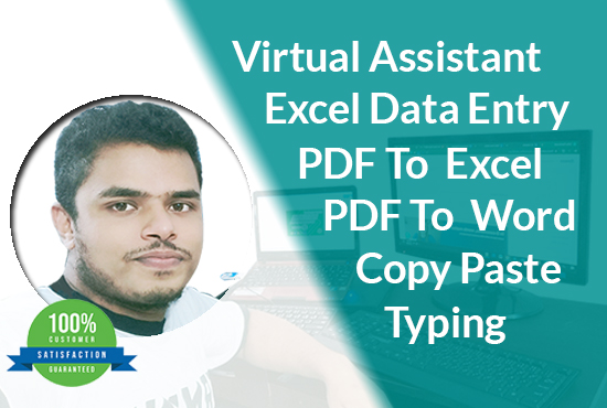 I will typing 10 pages and convert all types of data within 24 hours