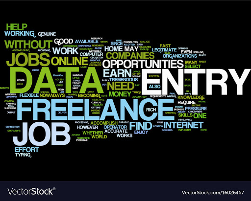 I will Do Data Entry, Copy paste, Data Typing, Conversion