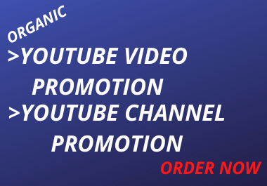 I will guarantee you tube promotion with results