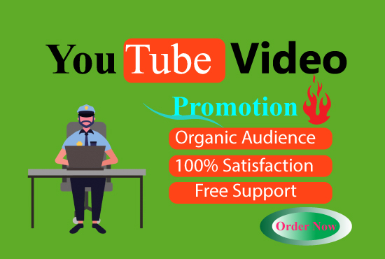 I will do viral YouTube video promotion to grow your organic audience