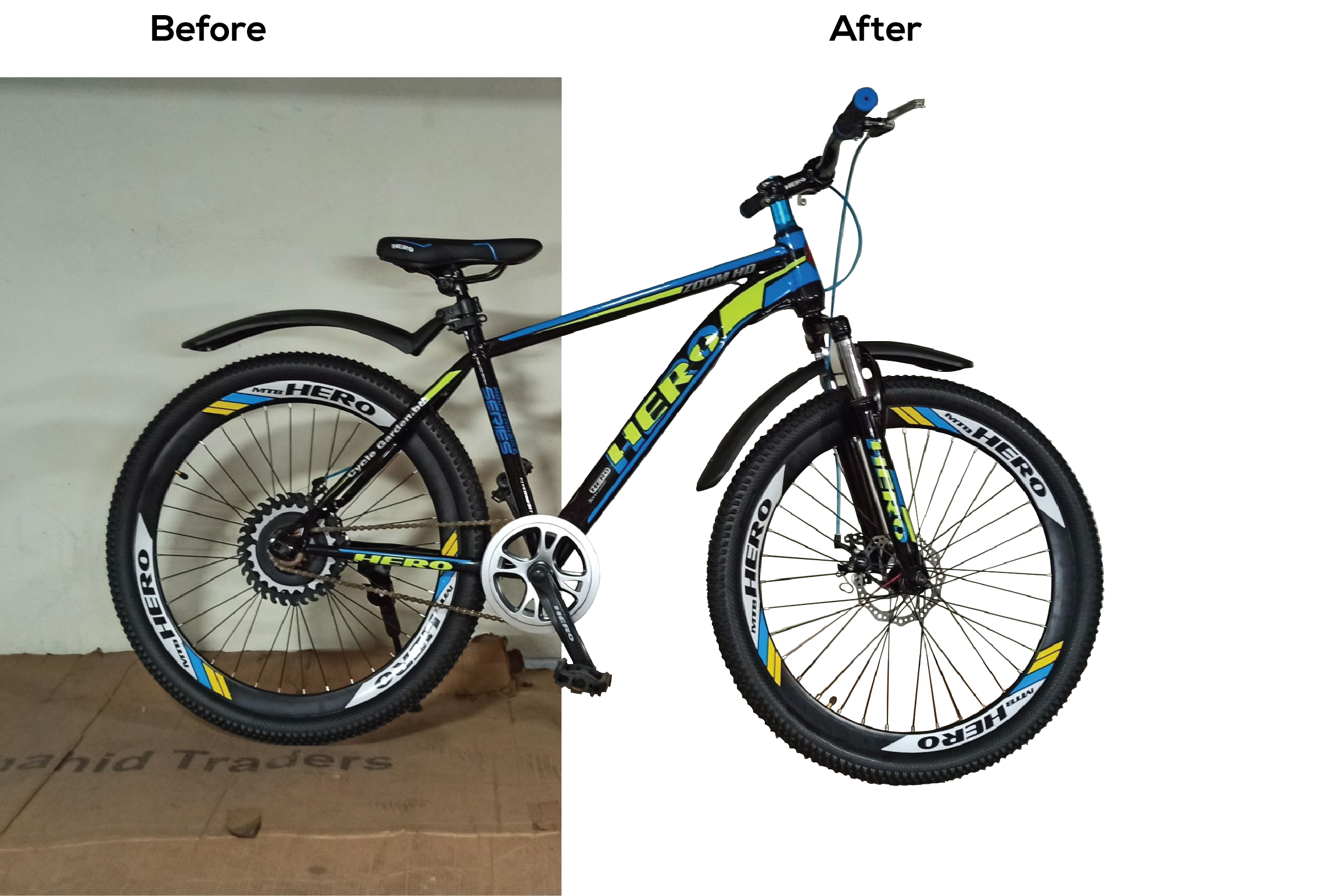 Image background remove or object remove in 24 hour