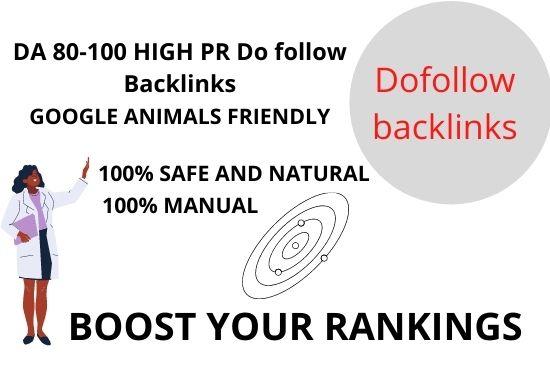 make high quality 50 do follow backlinks