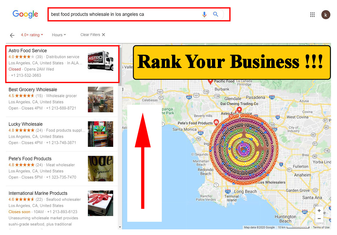 Create 500 or up google maps citations for local business SEO