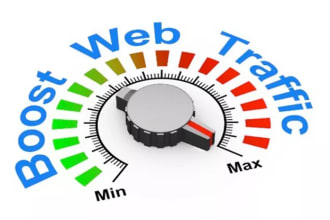 50,000 REAL WEBSITE TRAFFIC worldwide to your targeted Blog/website