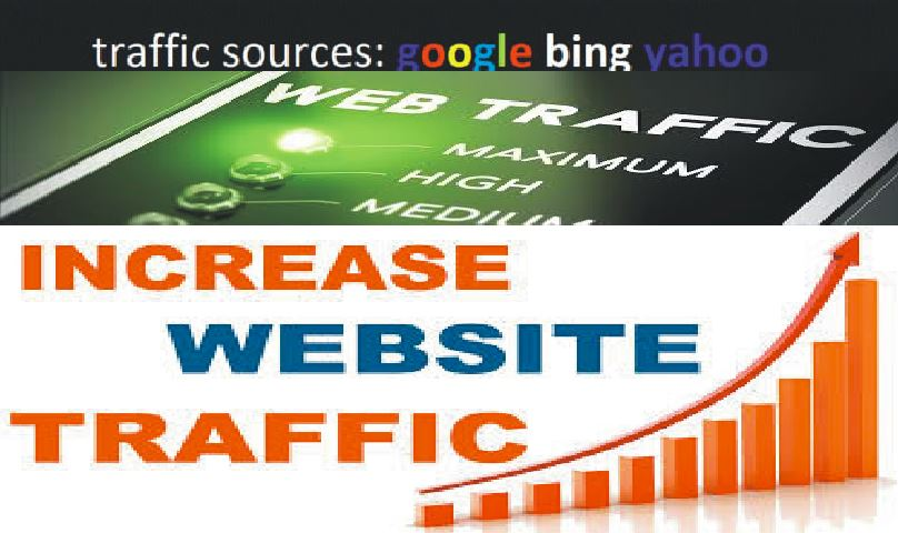Get up to 1 Million REAL Human WEBSITE TRAFFIC to targeted website