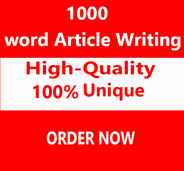 High-Quality & Original content Articles of 1000words & Rewrite for Credibility & Traffic
