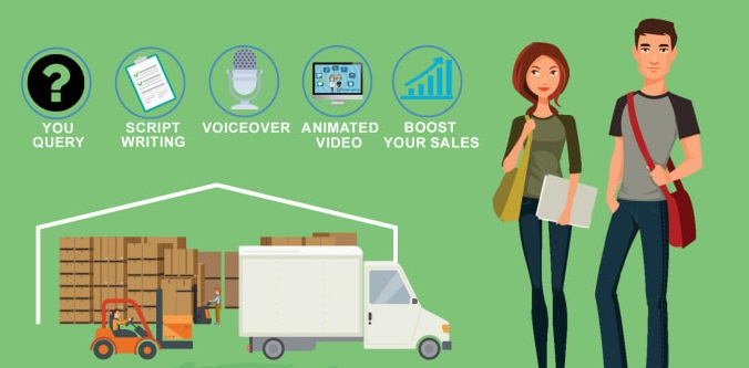 I will create animated videos for business and sales