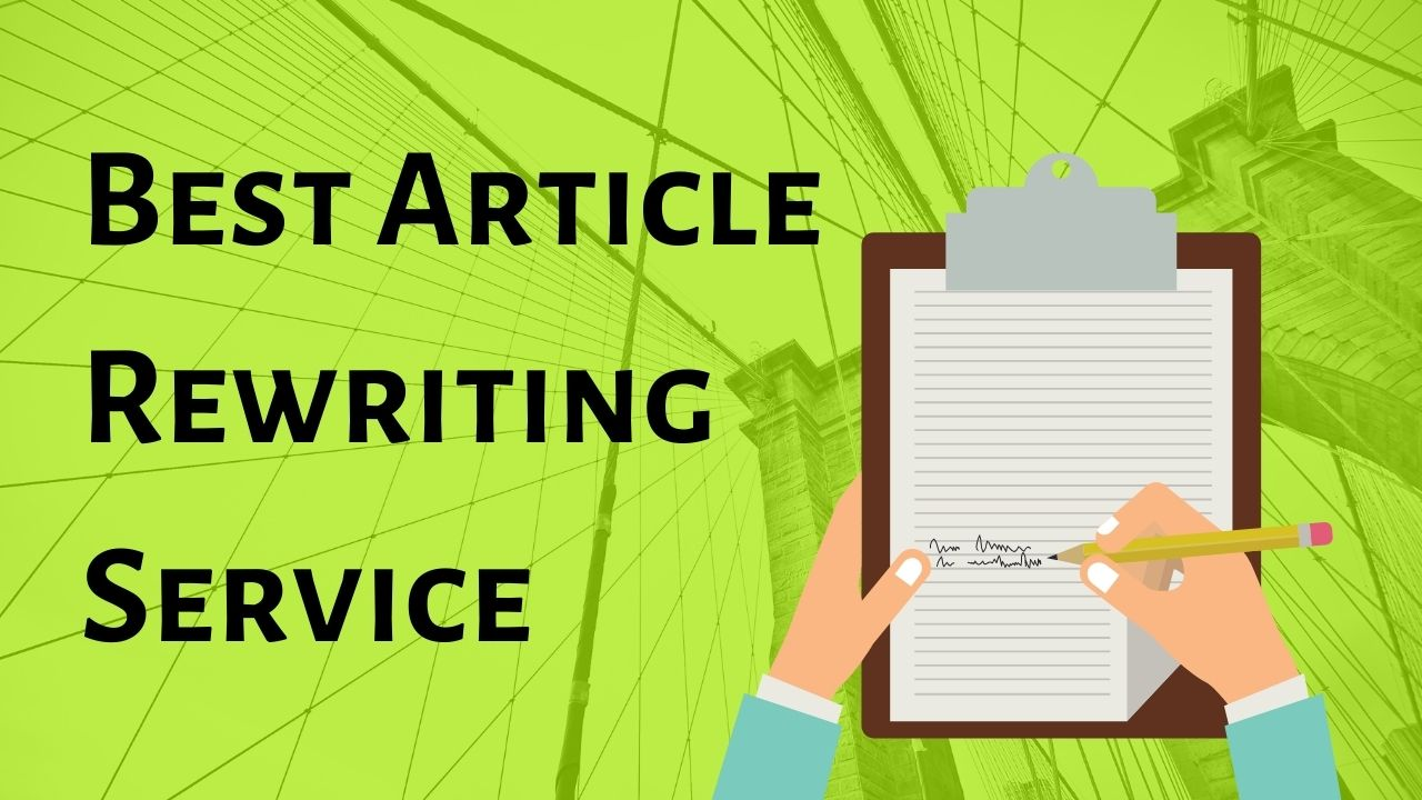 I will do 300 words article rewriting for your blog or business