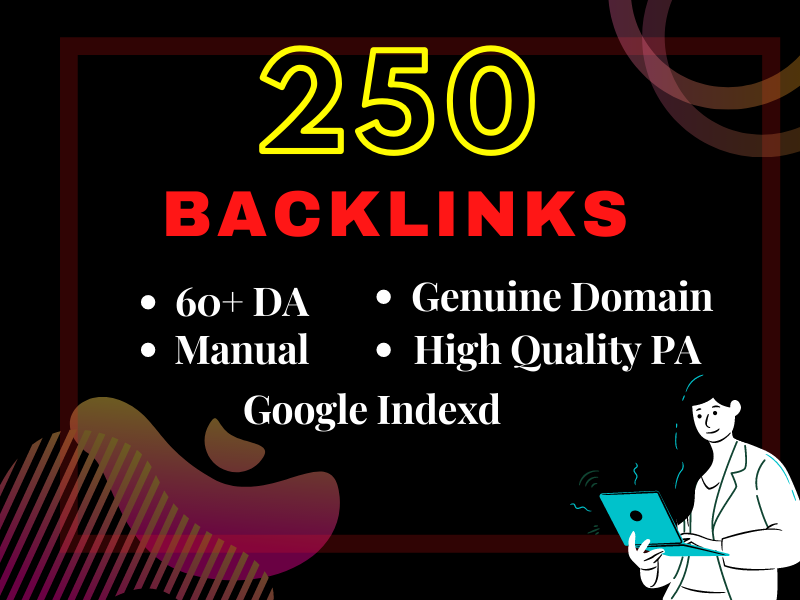 I will provide high DA,  PA,  PR 250 Dofollow Profile Backlink