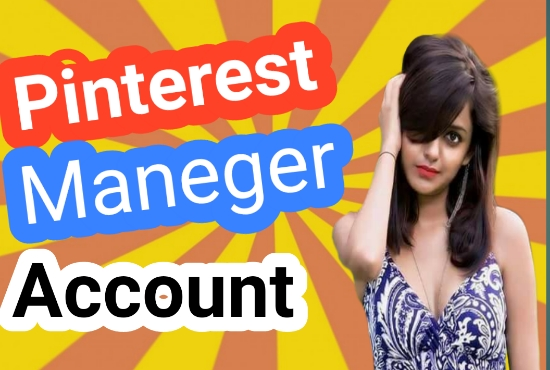 I will be pinterest marketing manager for business