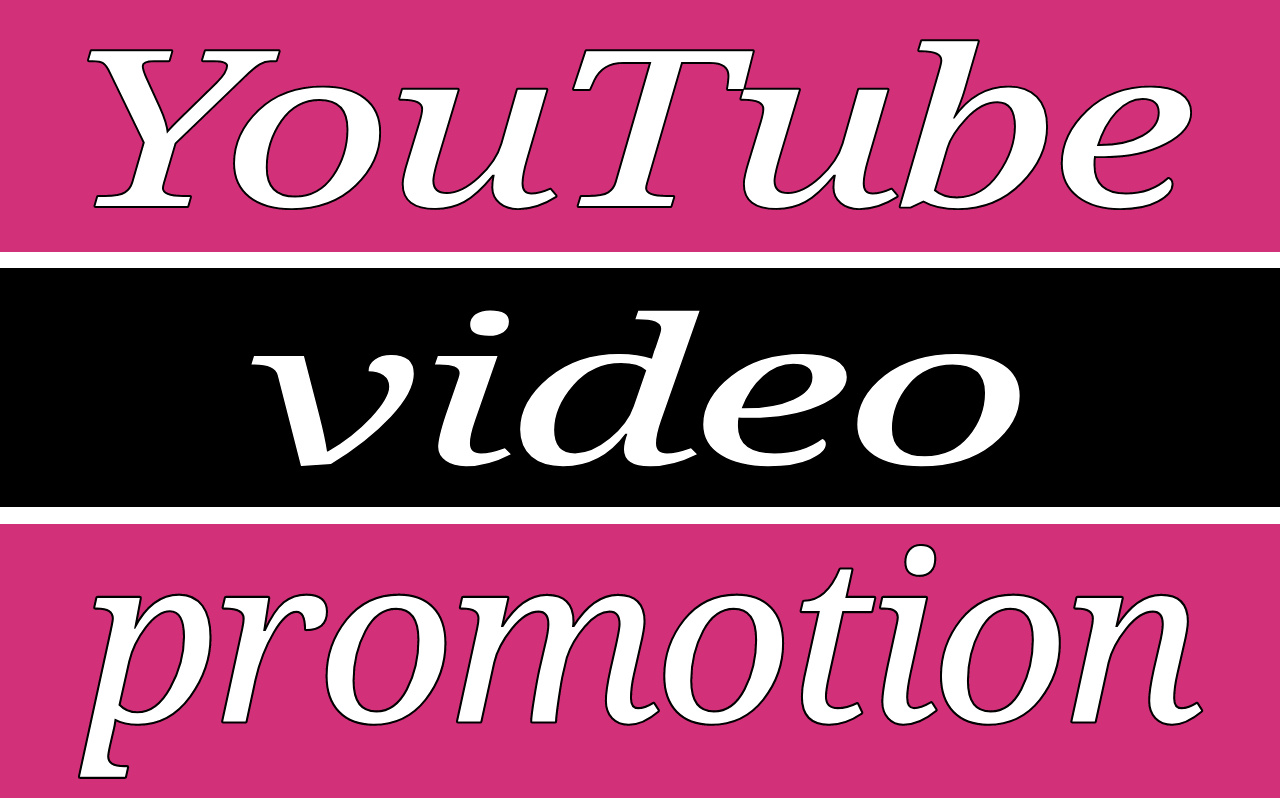 Manually YouTube video promotion via world-wide real users