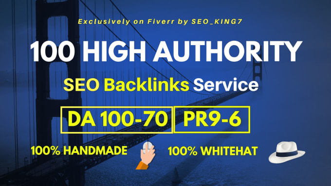 I will create 200 high da authority backlinks high da