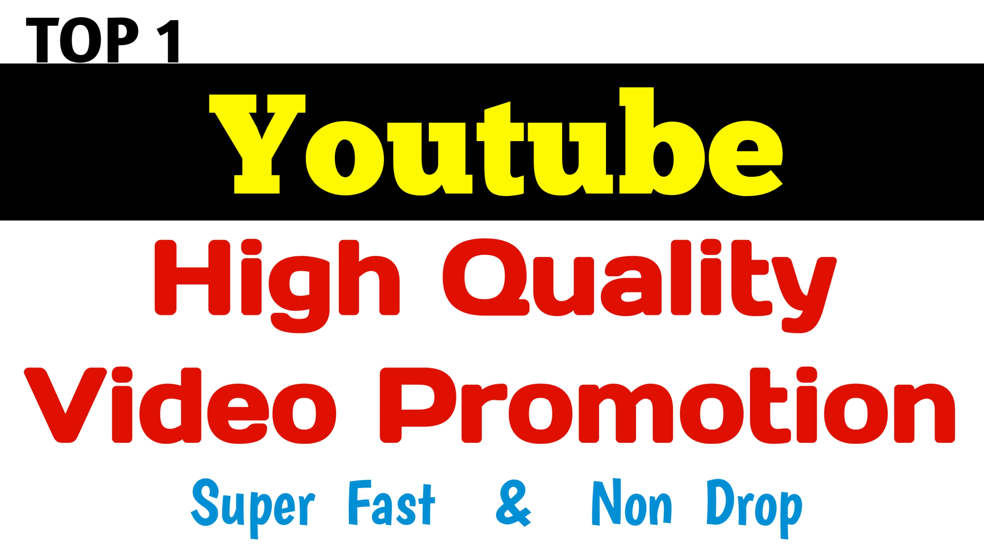 YouTube Video Promotion With High Quality Social Traffic