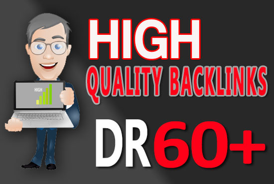 give You 100 dr 50 to 60 homepage backlinks for off page seo