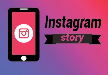 i will create unique instagram story design