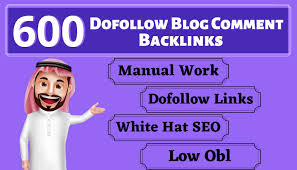 i will build 600 Unique Domains blog comments backlinks with manual low obl