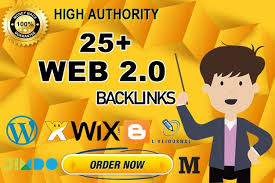 I will build 25 High Quality WEB2.0 back-links