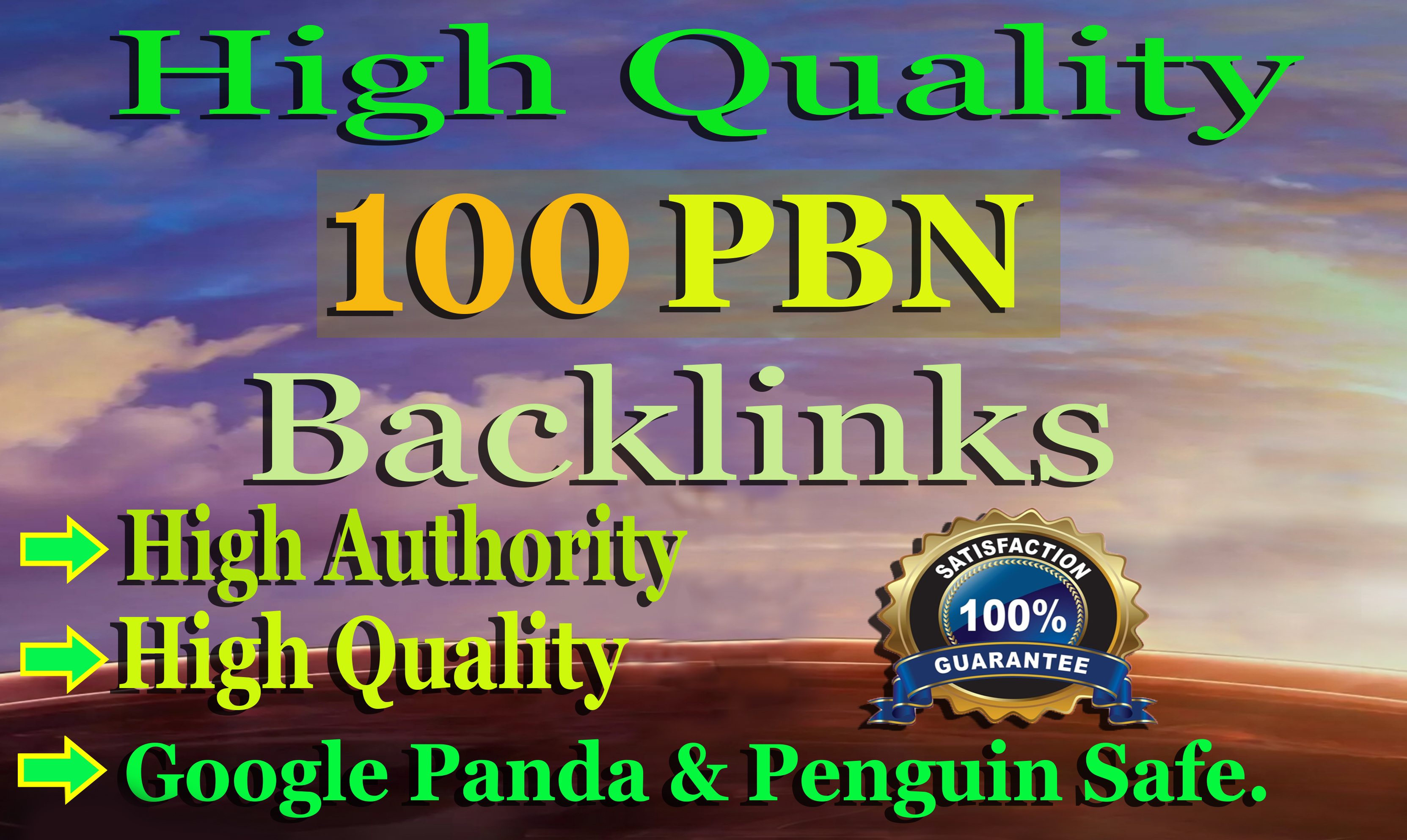 I will 100 PBN Backlinks to Boost your Website