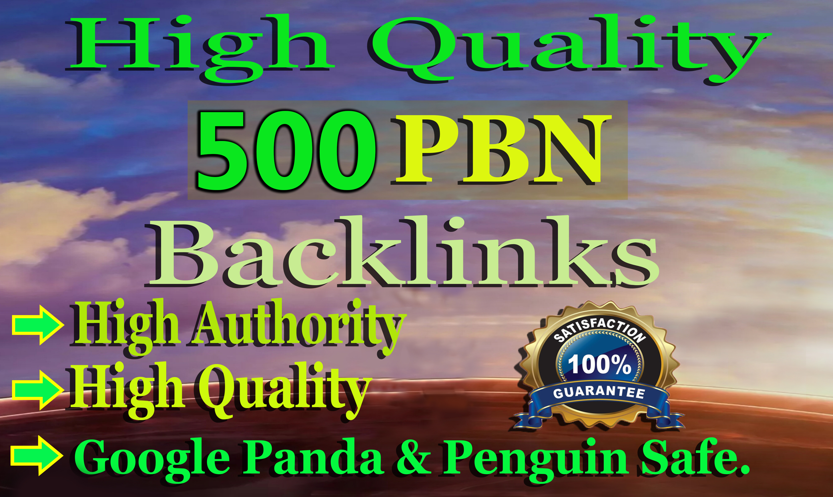I will 500 Web2.0 PBN Backlinks to Boost your Website