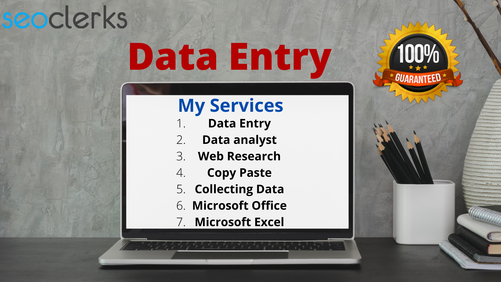 I will do simple data entry,  web research,  data collect,  copy paste job
