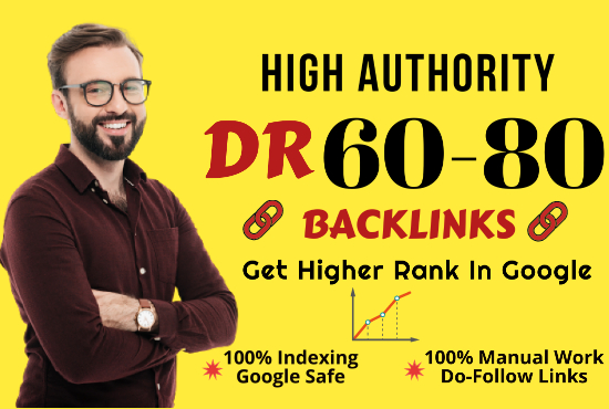 Build 5 Homepage High Quality DR 60 to 80 PBN SEO Backlinks - 2020 Google Updated