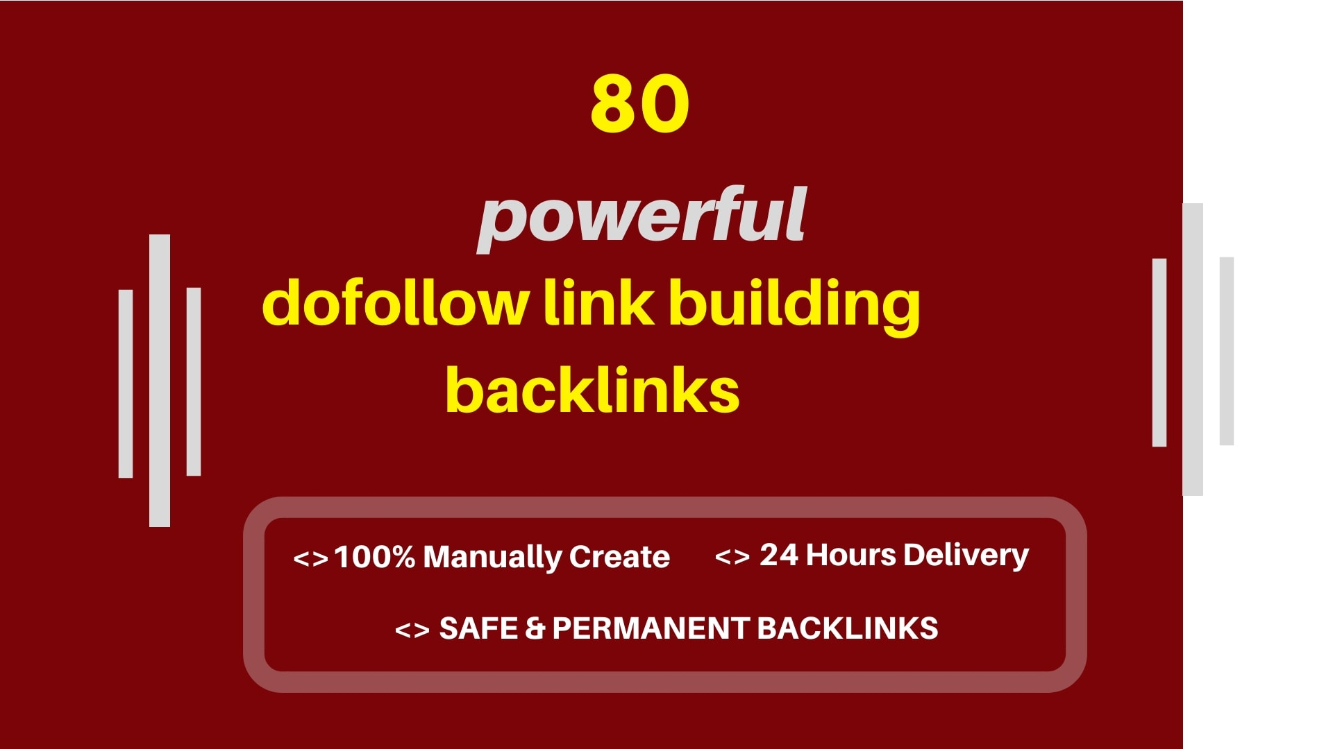 I wil create 80 powerfull dofollow blog comments backlinks