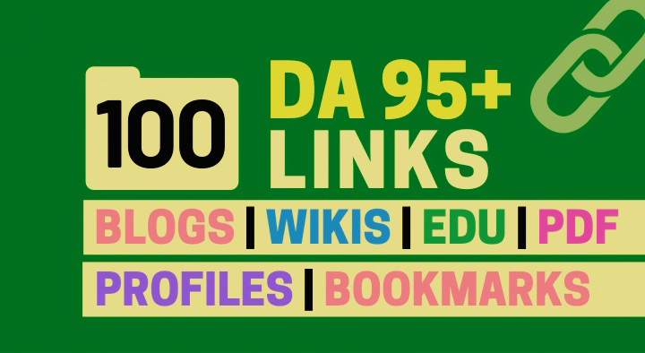 Do 100+ High DA 95+ HQ Links to RANK your website by boosting your web authority.
