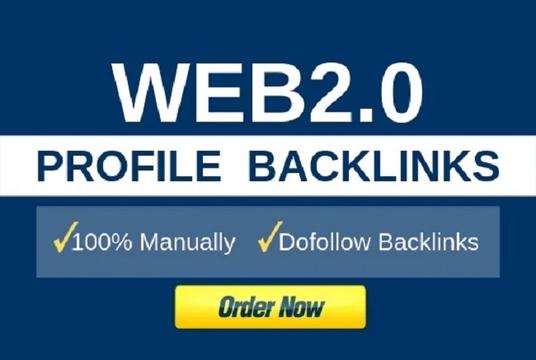 I will Do Homepage Build 50 Web 2.0 Backlinks