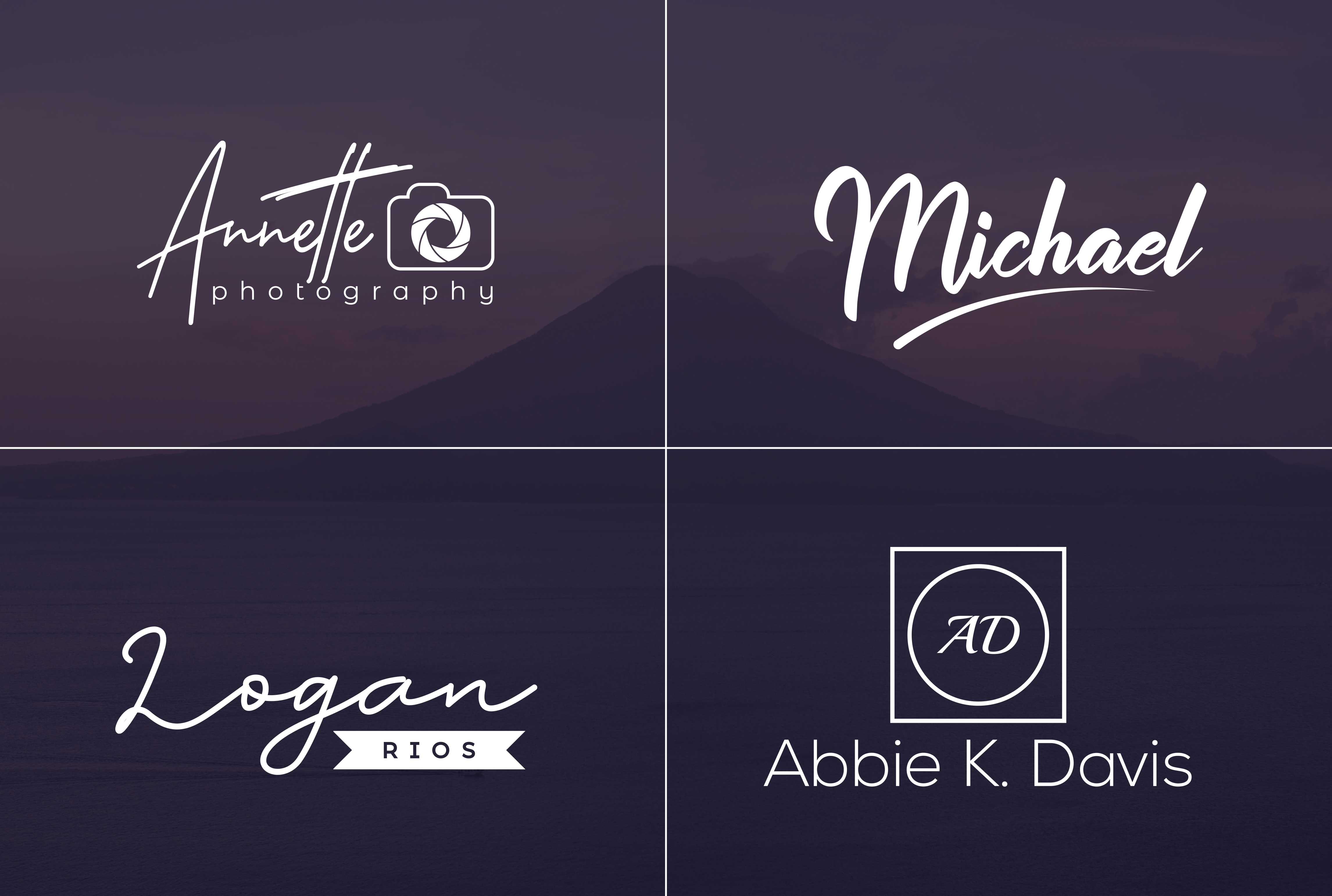 I will do clean signature logo, script logo, handwritten or text logo in 12hrs