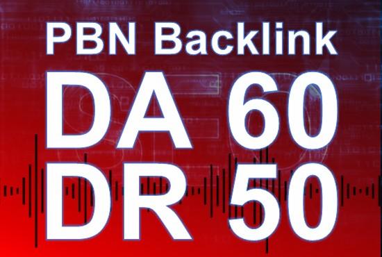Build 20 PBNs dofollow posts DA60 DR50 high quality seo service